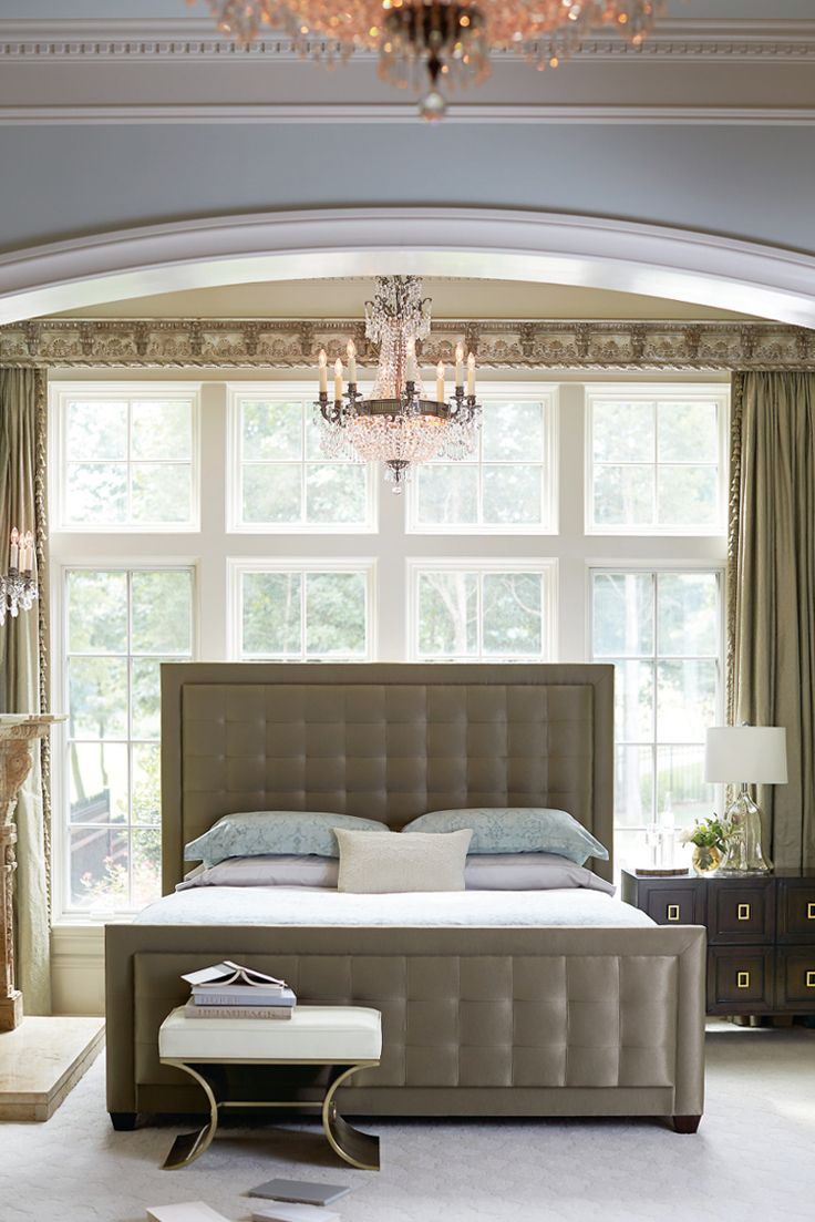 how to choose a paint color for your bedroom bernhardt jet set upholstered panel bed in shimmery 21320