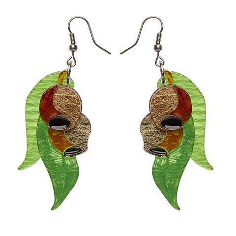 "Erstwilder Limited Edition Gumnut Babies Earrings. ""Fruit of the the mighty Eucalyptus. We have many desirable traits and can be as functional as we are fashionable."""