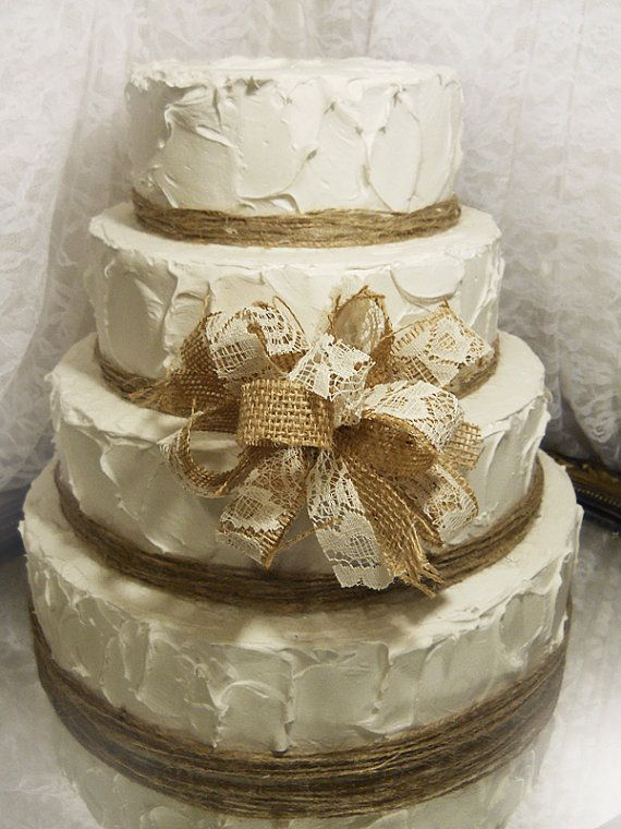 burlap and lace wedding cake toppers 120 best images about bridal shower on rustic 12254
