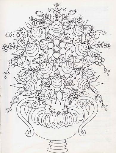 bavarian folk art coloring pages - photo#3