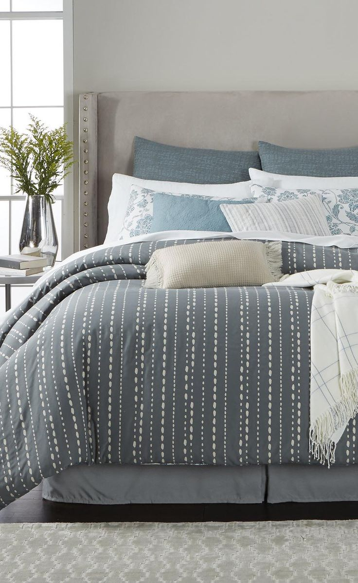 Reversible Bedding That Allows You To Switch Up The Look Of Your Bedroom In  An Instant! Shop This Look From The Martha Stewart Collection, ...