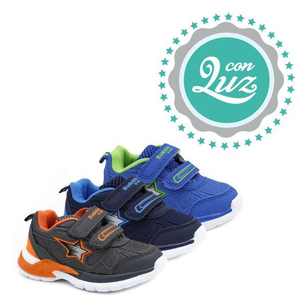 Zapatilla Luz Niño Bubble Bobble Zapatos Para Niñas Zapatos Nike Zapatillas