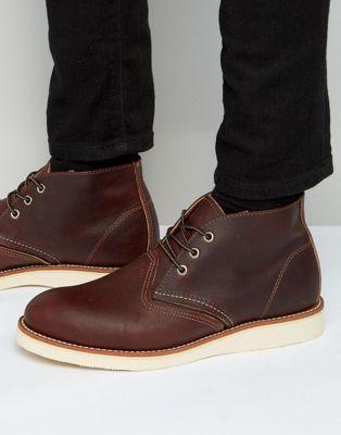 Кожаные ботинки чукка Red Wing