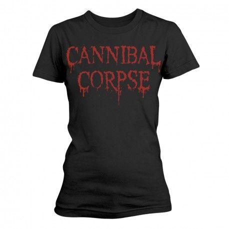 Cannibal Corpse: Dripping Logo (tricou dama)