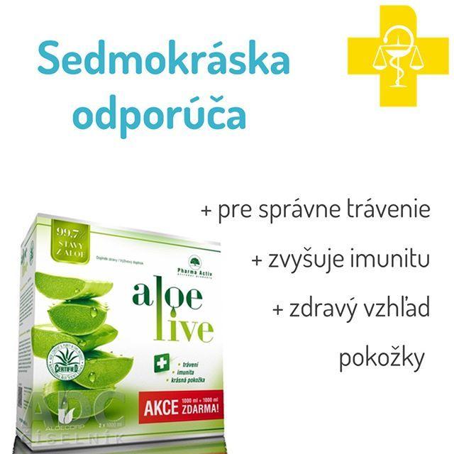 AloeLive šťava z aloe 99,7% - sol ora 2x1000 (2000 ml), 1+1 zadarmo