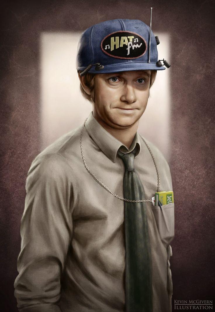 Kevin McGivern Blog: Tim Canterbury portrait