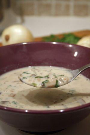 Velouté champignons / mushroom soup