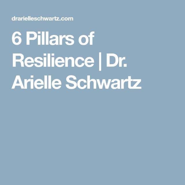 6 Pillars of Resilience | Dr. Arielle Schwartz