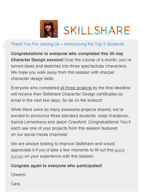 My meme moment. Am one of top 3 students chosen for character design course. YAY!!!