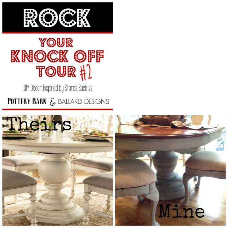 Rock Your Knockoff Paula Dean Inspired Table - Farm Fresh Vintage Finds