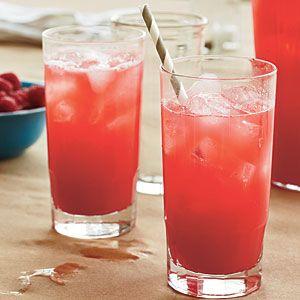 Fresh Raspberry Lemonade | MyRecipes.com