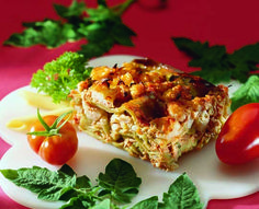 Blumenkohl-Thunfisch-Lasagne