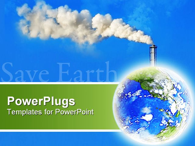 Air Pollution Ppt Templates Free Download Presentation Chart
