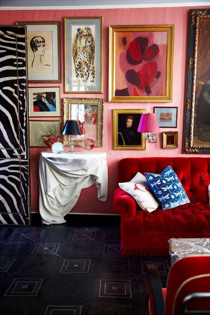 Brown marble bathroom miles redd - 34 Best Designer Miles Redd Images On Pinterest Living Spaces Live And Home