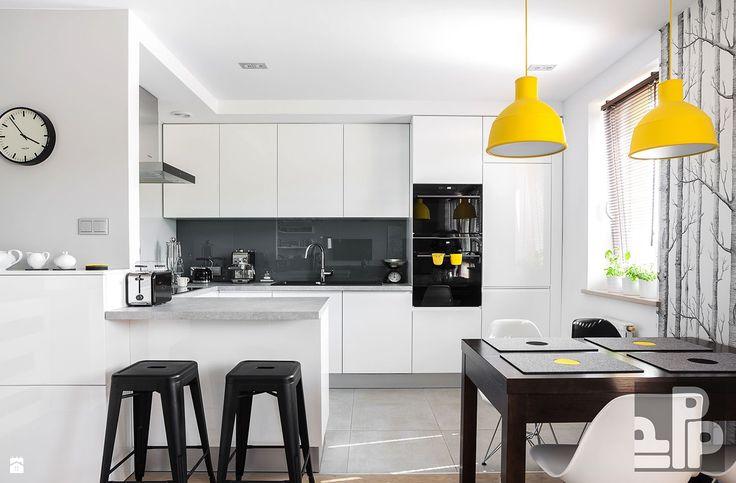 Zdjęcie: Kuchnia styl Skandynawski - Kuchnia - Styl Skandynawski - Pogotowie Projektowe Aleksandra Michalak