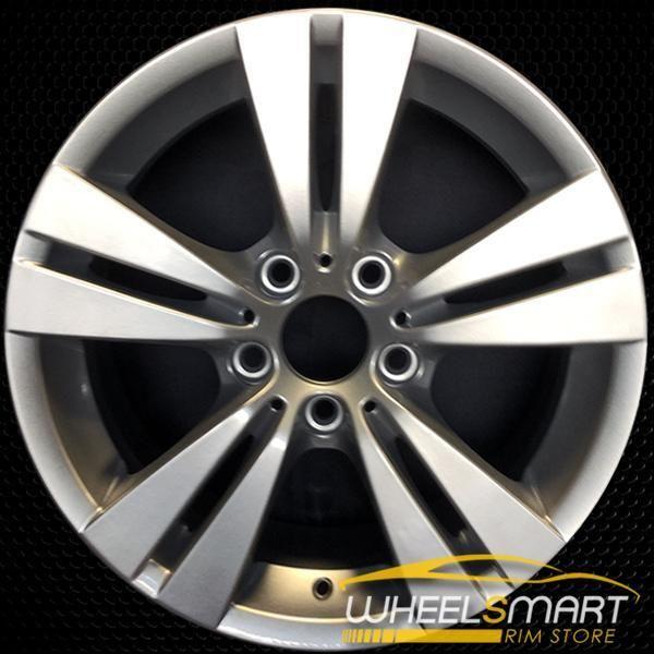 17 Bmw 528i Oem Wheel 2008 2010 Silver Alloy Stock Rim 71298 Oem Wheels Wheels For Sale Bmw 528i