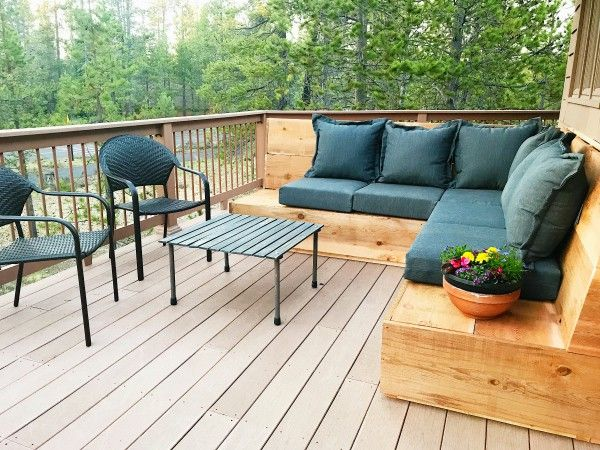 Sunset Magazine Inspired Diy Outdoor Sectional Outdoor Furniture