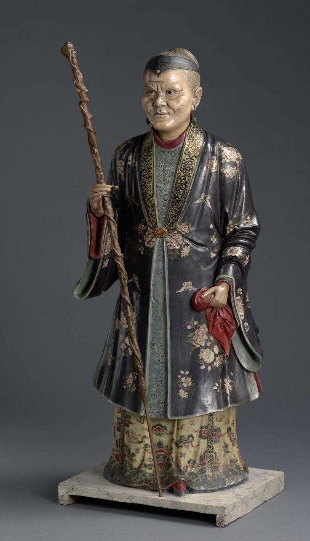 Vrouw van hoge Chinese ambtenaar, anoniem, 1804. www.rijksmuseum.nl/n/collectie/NG-878-b