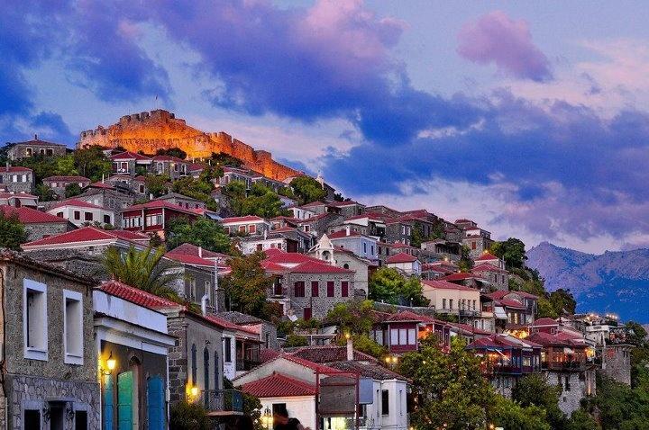 Lesvos Greek Ferry guide - DANAE Greek Travel Services Online