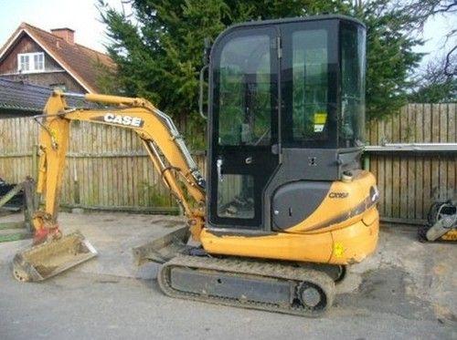 Case CX16B CX18B Mini Excavator Repair Manual