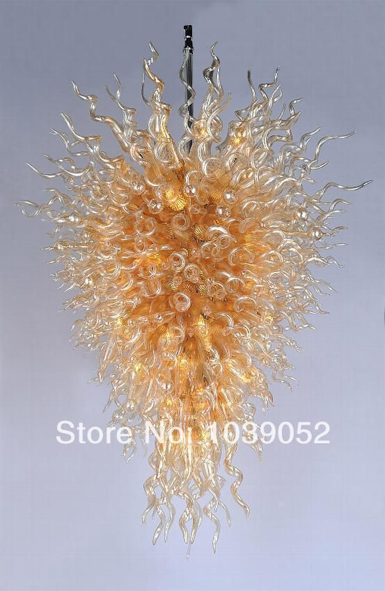 Free Shipping Modern Hotel Murano Lights Big Bohemian Crystal