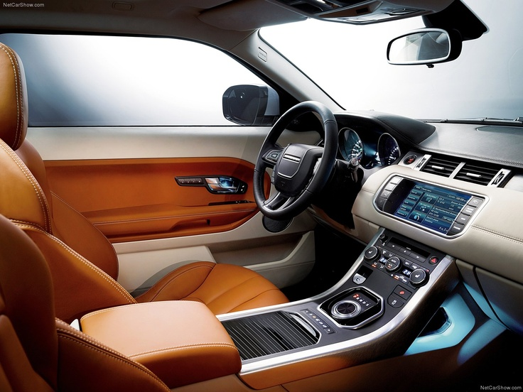 Land Rover Range Rover Evoque interior