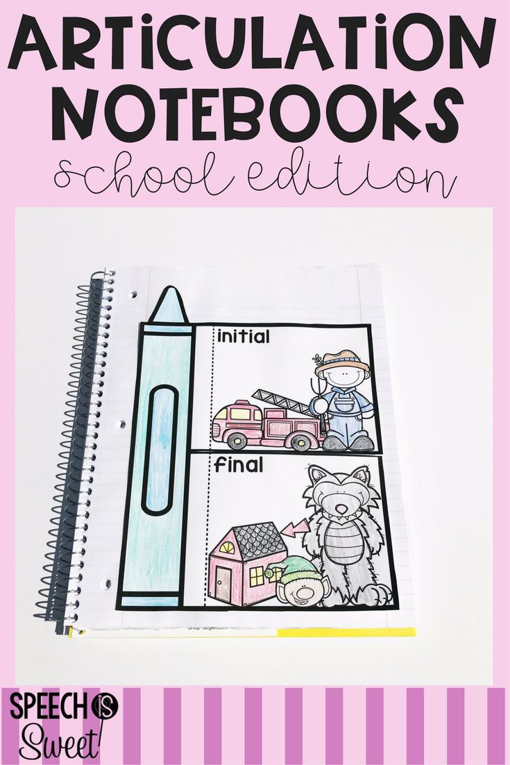 Coloring book for notability - This School Themed Interactive Articulation Notebook Is Fun And Engaging This Is Perfect For Back