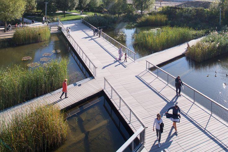 Galería de Paisaje y Arquitectura: Martin Luther King, un parque ecológico integral y conector de barrios - 3