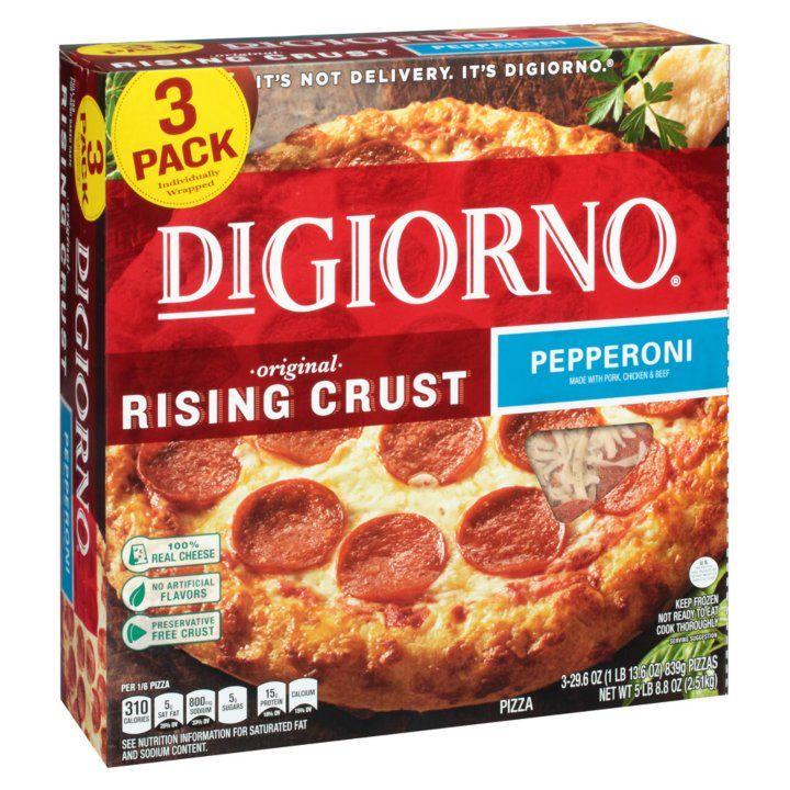 Digiorno Rising Crust Pepperoni Pizza 29 6 Oz 3 Pk Detail 1 Rising Crust Pepperoni Pizza Digiorno
