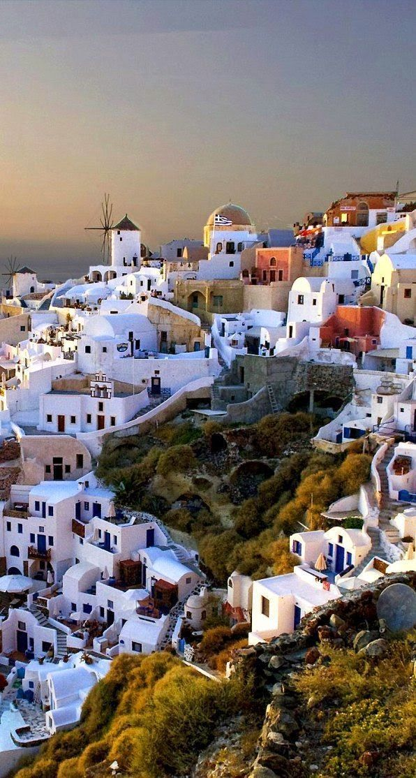 Romantic travel destinations - Oia, Santorini Island, Greece