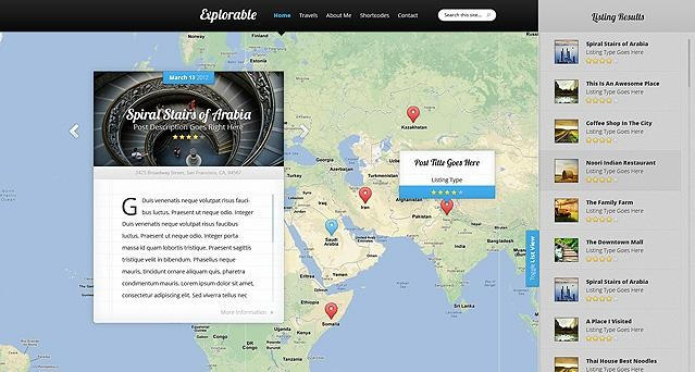 ElegantThemes – Explorable Theme v1.2 For WordPress Free Download