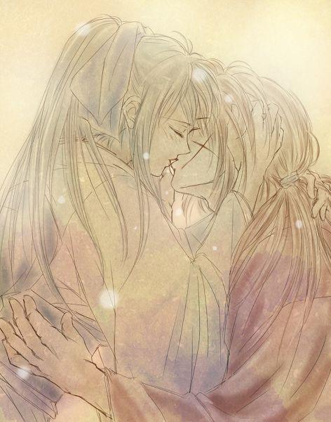 Kamiya Kaoru & Himura Kenshin,Hitokiri Battosai - Rurouni Kenshin,Anime