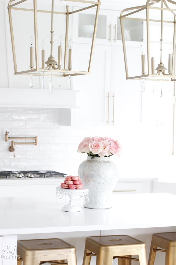 Welcome To Our Bright White Kitchen We just finished building our new home here in the Pacific Northwest and today I am taking you on a tour of our bright white kitchen!