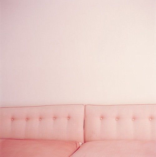Pink wall and pink sofa mix of nude pastel pinterest for Pale perfection paint