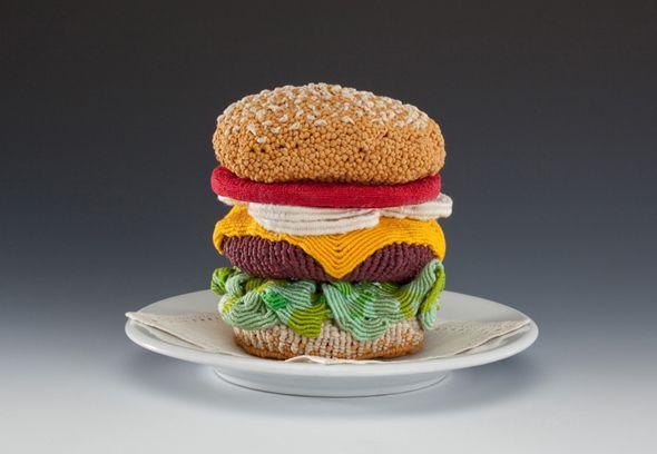 Ed Bing Lee - Macramè Burger