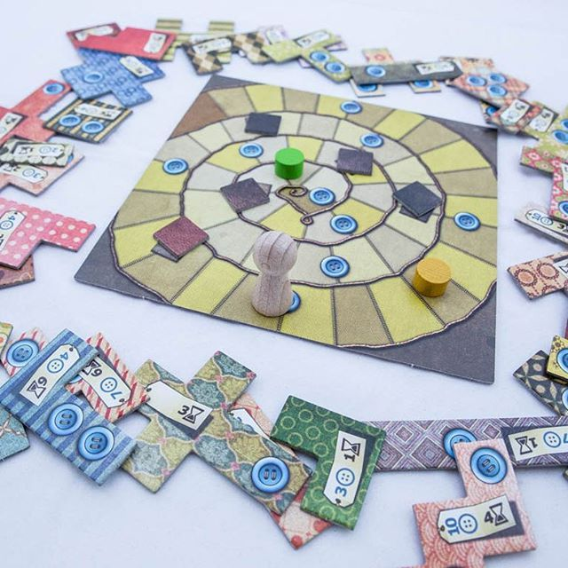 PATCHWORK for two players #patchwork #boardgames #brætspil #brädspel #brettspill #fungame #fast