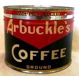 Antique Arbuckle Coffee Crate