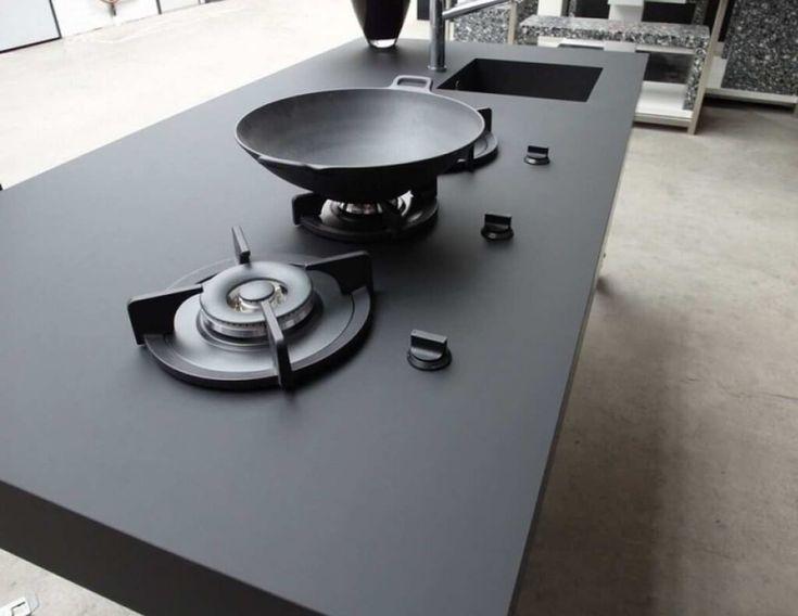 Nanotech Matte Kitchen Countertop by Arittal