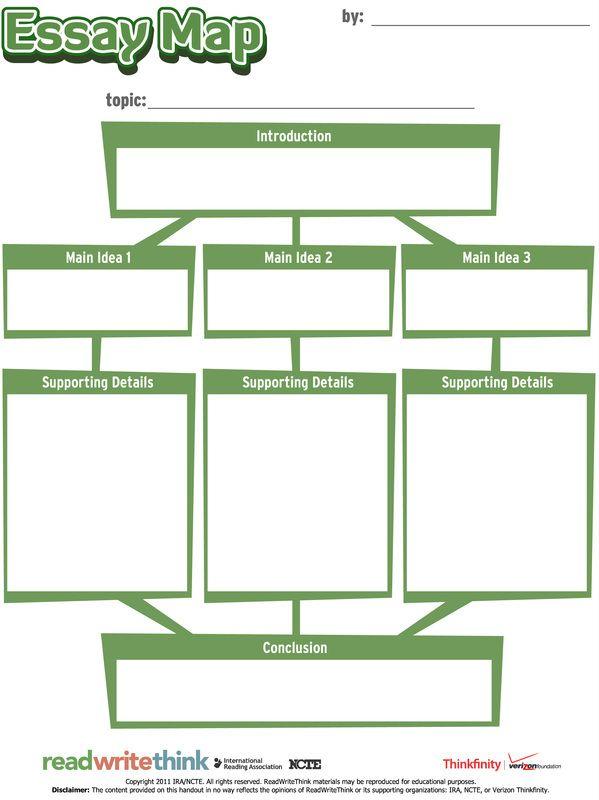 The Essay Map is an interactive graphic organizer that enables