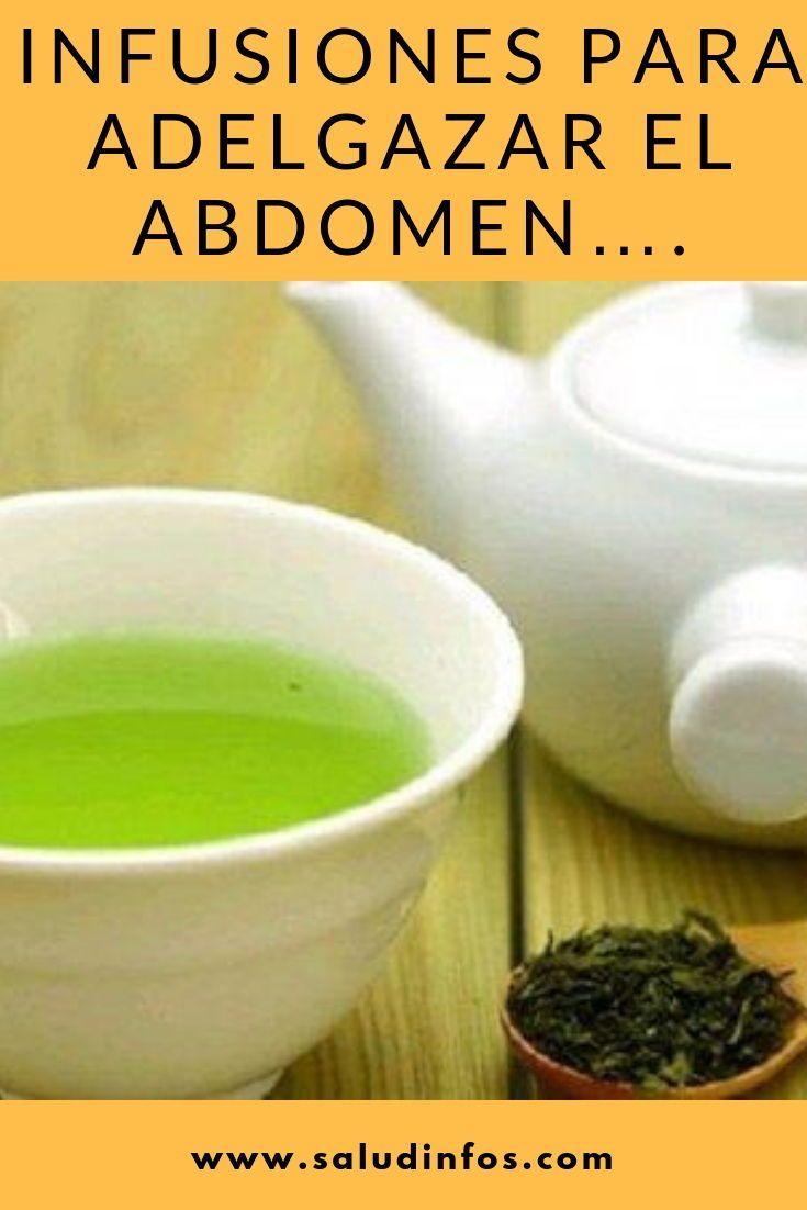 hierbas para adelgazar el abdomen