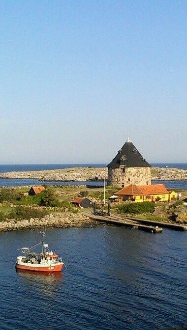 Frederiksø set fra christiansø