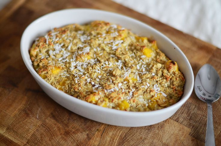 Tropical Oven Baked Oats