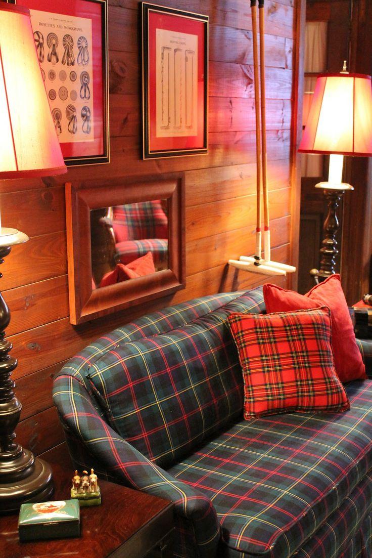 Plaid Living Room Furniture 43 Best Images About Moms House On Pinterest Ralph Lauren