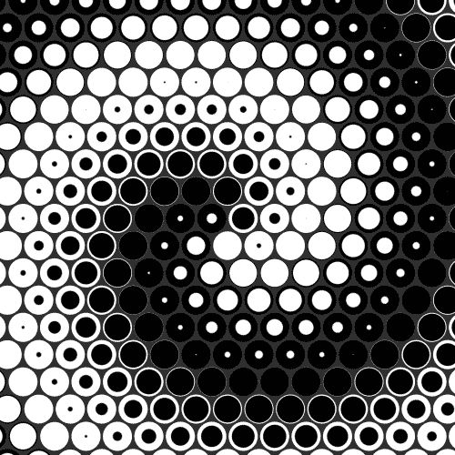 circles and dots - looping gifs - UI design in motion graphics -