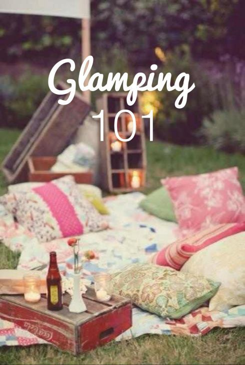 Glamping...Always wanted to do this!