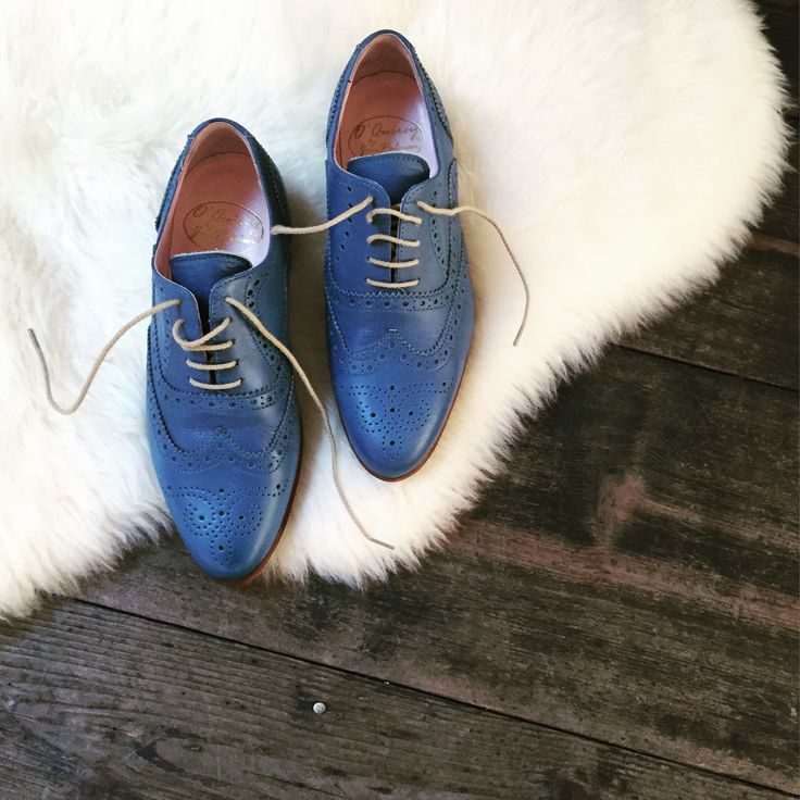 O'Quirey Lady Berlino Royal Blue | #oquirey #ladyberlino #brogues