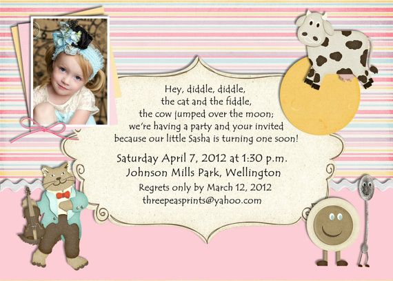 17 best ideas about Birthday Party Invitation Wording – 1st Birthday Rhymes for Invitations
