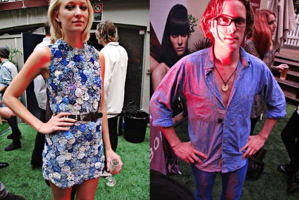 Two Hot hot, New new labels paraded their stuff together at 'The Club' in Sydney's Kings Cross last night. I know they are hot and I know th...