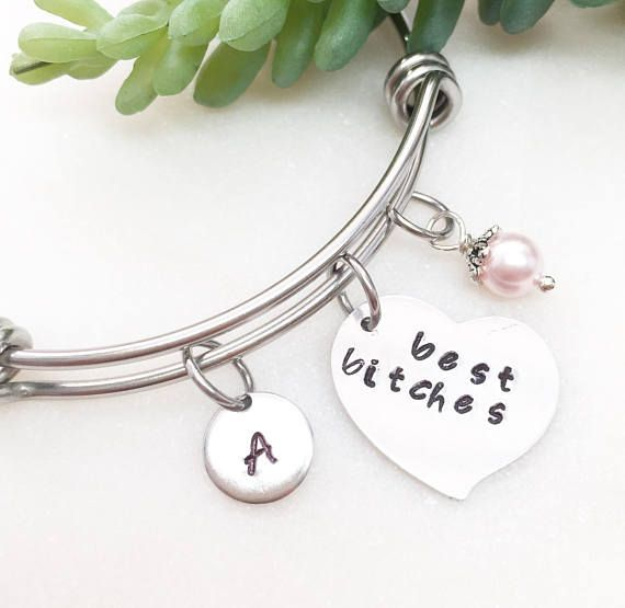 fcc60e25d5850c Best bitches bracelets, bff bracelets, nasty woman bracelets ...