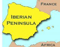A Medieval Atlas   Iberian peninsula